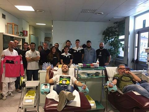 Gli arbitri genovesi donano il sangue al Gaslini