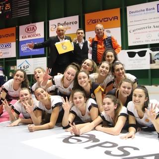 VOLLEY Serteco chiude in bellezza la prima fase di B2: Bosca Ubi Banca Cuneo battuta 3-0 e secondo posto nel girone A1