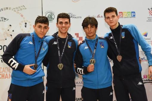 SCHERMA Ancora un argento per Filippo Armaleo ai Campionati Europei Under 20