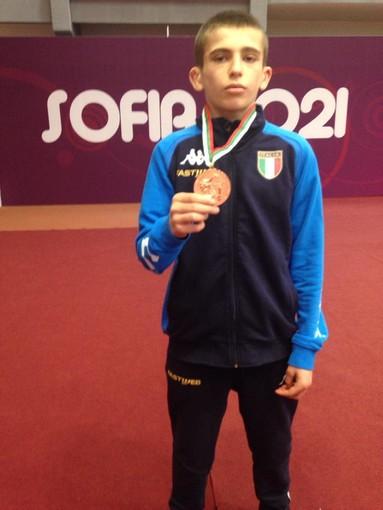 LOTTA Bronzo di Bonanno nei -41kg di stile libero: gli Europei U15 si chiudono con due medaglie azzurre