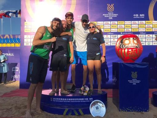 BEACH VOLLEY Matteo Varnier alle Olimpiadi di Tokyo 2020
