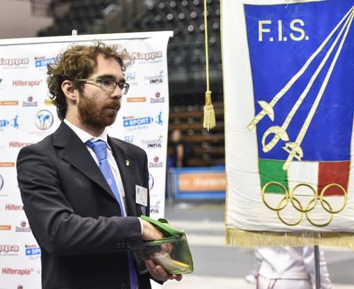 SCHERMA Alexis Bruno arbitro internazionale