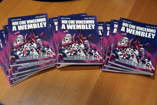 """Pronto il libro """"Noi che vincemmo a Wembley"""""""