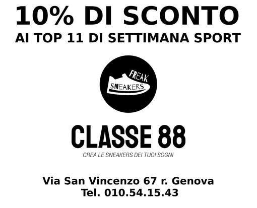 "IL TOP 11 ""CLASSE 88"" DI TERZA CATEGORIA GENOVA"