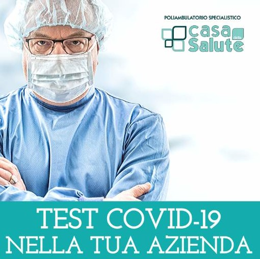 CASA DELLA SALUTE - TARIFFARIO TEST COVID-19  riservato alle aziende