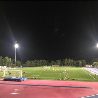 CELLE RIVIERA CALCIO Nuovo impianto di illuminazione allo Stadio Olmo-Ferro