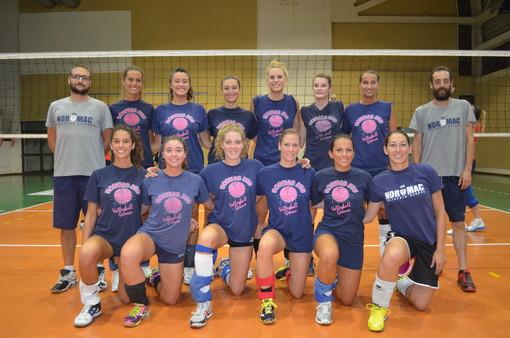 Le ragazze della prima squadra della Normac AVB