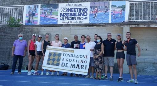 Domani a Celle Ligure il 32° Meeting Arcobaleno Atletica Europa