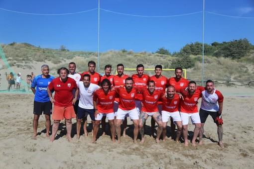 Una vittoria ed una sconfitta nei test di Tirrenia per la Genova Beach Soccer