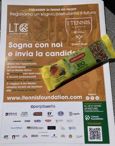 Lo sport che fa bene: Noberasco Official Sponsor di I Tennis Foundation