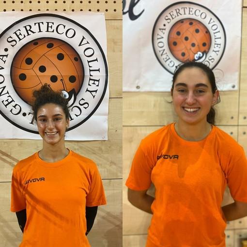 VOLLEY Serteco si aggiudica a titolo definitivo le prestazioni sportive delle giovani promettenti Matilde Cordone e Alice Conte