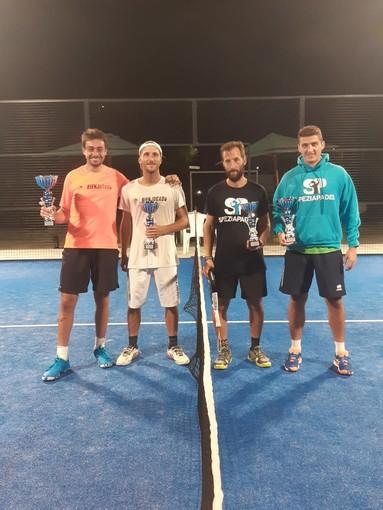 Padel - Concluso il primo torneo al Circolo Tennis Spezia di S. Venerio