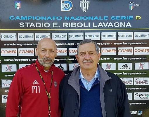Il nuovo tecnico della Lavagnese, Cristiano Masitto, qui in versione giocatore con la casacca bianconera.