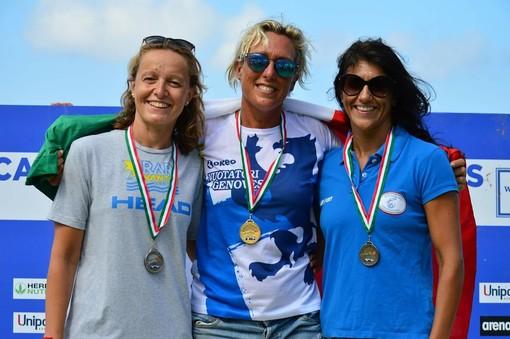 Le medaglie dei Nuotatori Genovesi ai Master di nuoto in acque libere