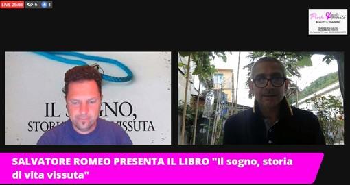 """VIDEO/SALVATORE ROMEO PRESENTA IL LIBRO """"Il sogno, storia di vita vissuta"""""""