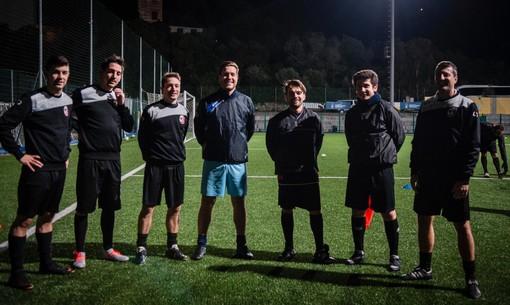 RECCO 2019 Il Consigliere Nicholas Gandolfo in visita alla squadra ritrova vecchi amici e lancia un messaggio