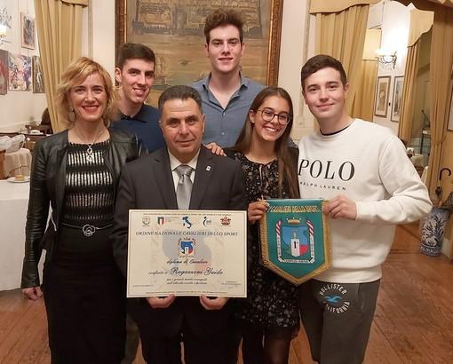 NUOTO Guido Ragazzoni Cavaliere dello Sport