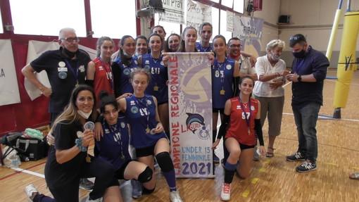 Pallavolo - Il Lunezia Volley Under 15 si prende pure il titolo regionale