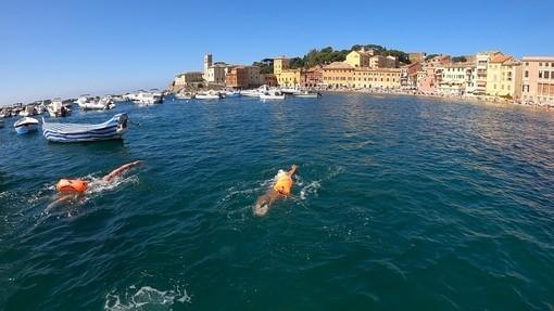 NUOTO Da Moneglia a Sestri Levante a nuoto e la candidatura a tappa nazionale del Gran Fondo Italia