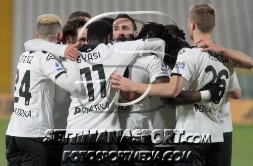 I festeggiamenti bianconeri per un gol