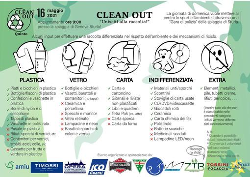 Clean Out: domenica pulizia della spiaggia di Sturla dedicata al Gaslini