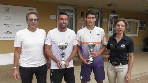 """Tennis - A Claudio Grassi il 1.o Open """"Vetitia"""" a San Venerio"""