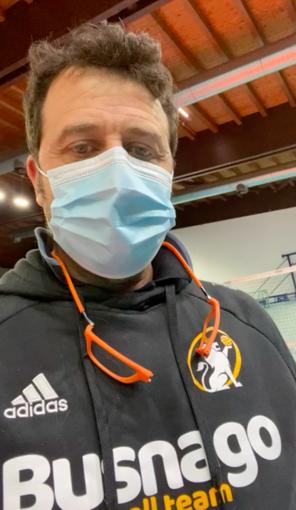 VIDEO VOLLEY Gli auguri di coach Alessandro Licata alla Serteco Volley School Genova