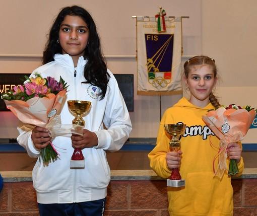 SCHERMA Arianna Sansone terza nel Torneo Nazionale Under 14 di Vercelli