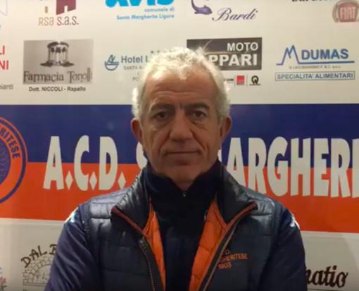 VIDEO Sammargheritese-Levanto, il commento di Marco Camisa