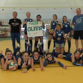 Pallavolo - Olimpia Spezia campione territoriale Under 13