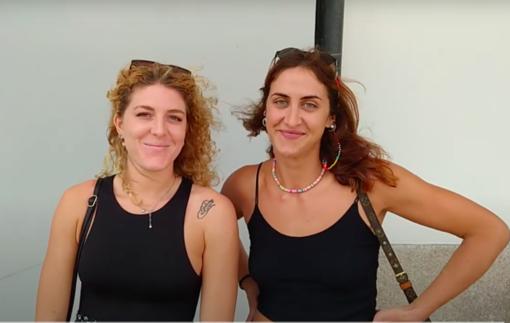 PSA OLYMPIA Intervista a Giulia Bilamour e Silvia Antonaci sull'arrivo di Valentina Arrighetti