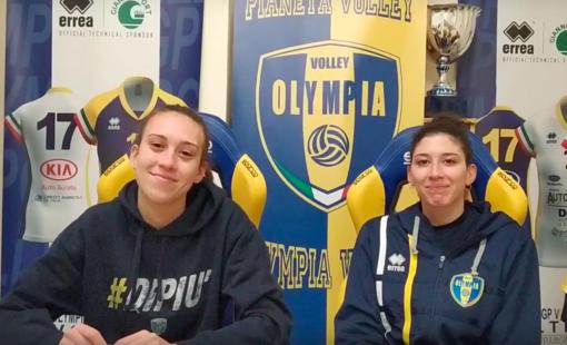VIDEO Serie B2 Intevista ad Aurora Montedoro e Giorgia Castelli della PSA Olympia