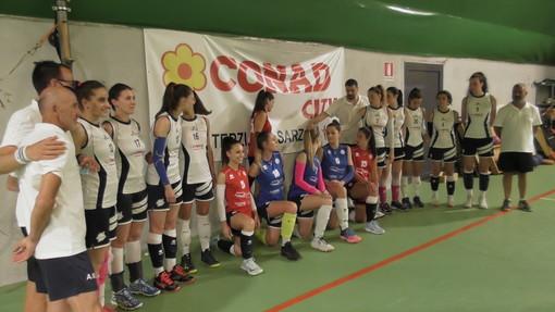 Pallavolo - Il già neopromosso Lunezia Volley saluta tutti a Celle Ligure