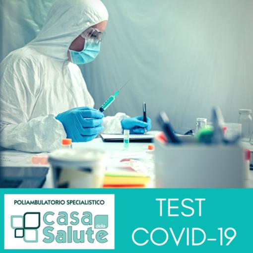 Casa della Salute a sostegno dei cittadini: TEST COVID-19