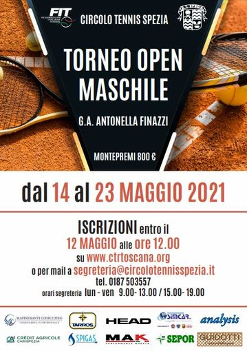 TENNIS Weekend e torneo Open in arrivo a San Venerio