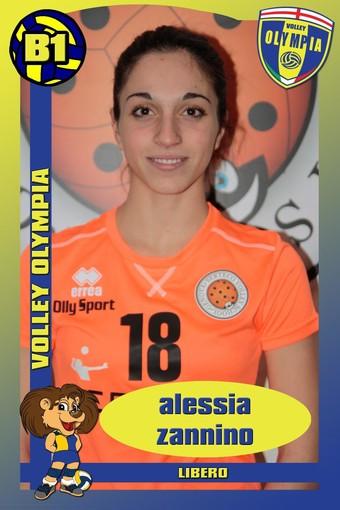 PSA OLYMPIA Ufficiale l'arrivo del libero Alessia Zannino