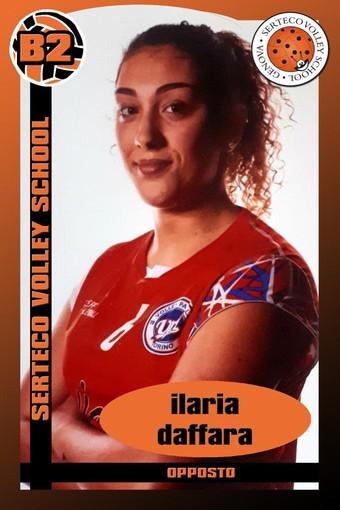SERTECO È ufficiale l'arrivo dell'opposto classe 2001 Ilaria Daffara
