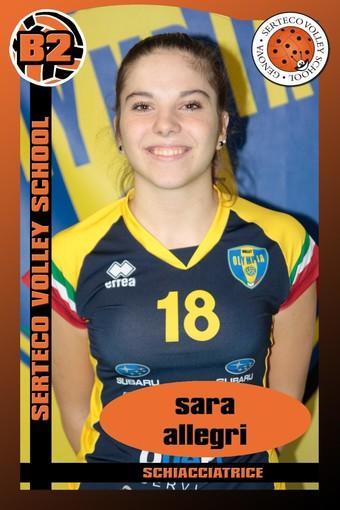 SERTECO Sara Allegri è un nuovo innesto per la B2 del prossimo campionato