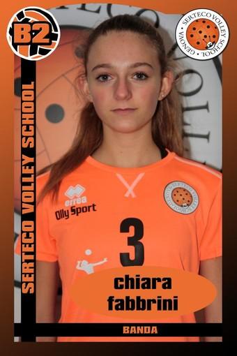 SERTECO La giovane Chiara Fabbrini promossa in prima squadra