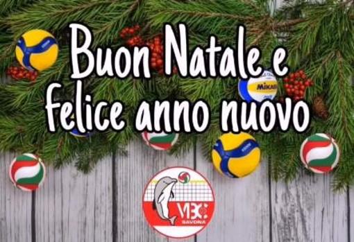 VOLLEY Gli auguri di Buon Anno del VBC Savona