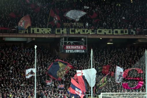FOTO-TIFO Le immagini di Genoa-Sassuolo