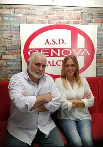 GENOVA CALCIO Laura Bevilacqua è l'addetto stampa