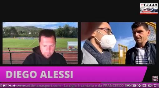 """VIDEO/CAIRESE-ALBENGA Diego Alessi: """"Un punto che ci sta molto stretto, loro hanno fatto un tiro e mezzo in porta"""""""
