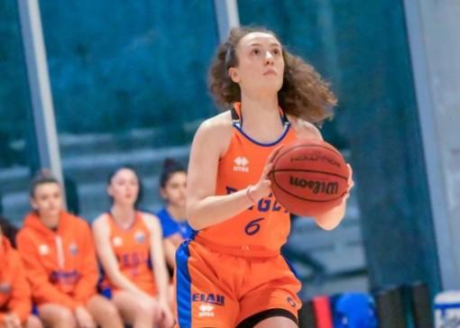 Serie B Femminile: Basket Pegli all'ultimo respiro prevale a Biella