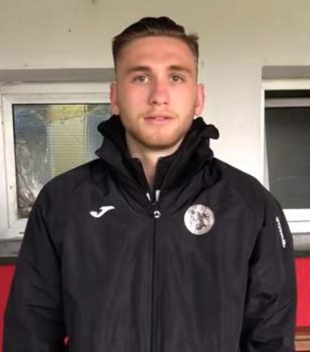 VIDEO Genova-Baiardo 2-1, il commento e la dedica di Gianluca Briozzo