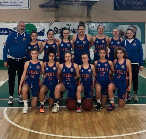 Basket Pegli secondo al torneo nazionale Under 16 femminile di Ostia