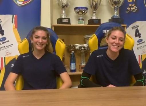 VIDEO PSA Olympia: Giulia Bilamour e Sveva Tonello presentano l'esordio nel campionato di B2