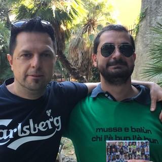 Paolo Dellepiane e Cristiano Cinacchio
