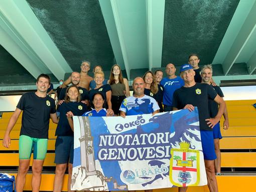 Nuoto Master: Anche la Nuotatori Genovesi tra i Campioni d'Italia
