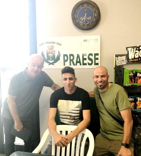 Cisternino (qui con Gobbo e Carletti) è stato il giocatore più votato del girone B di Prima